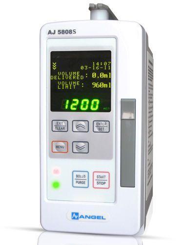Volumetric infusion pump / 1 channel 0.1 - 1200 mL/h | AJ 5808-S Angel Canada Enterprises