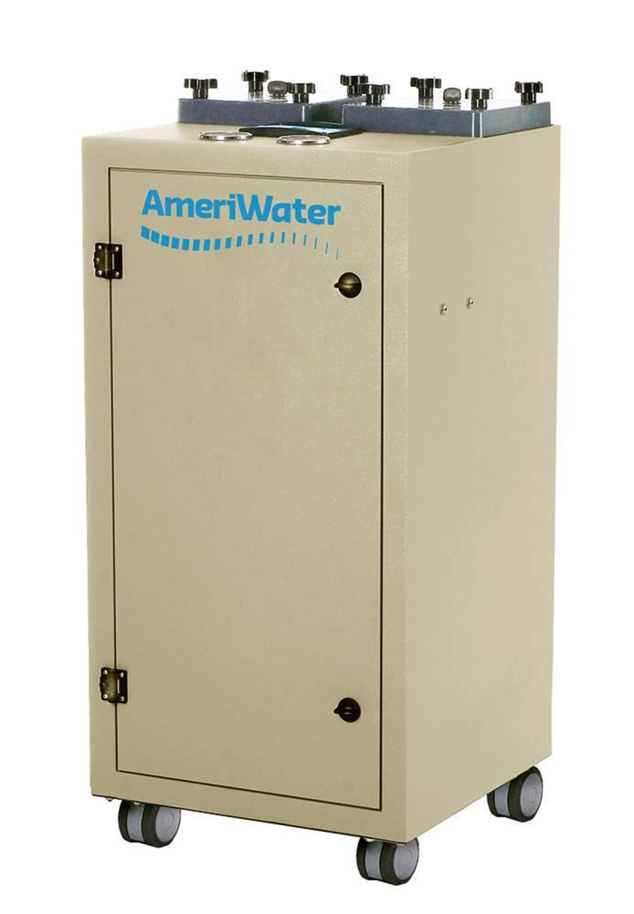 Laboratory water purifier / by UV / microfiltration / electrodeionization AmeriWater