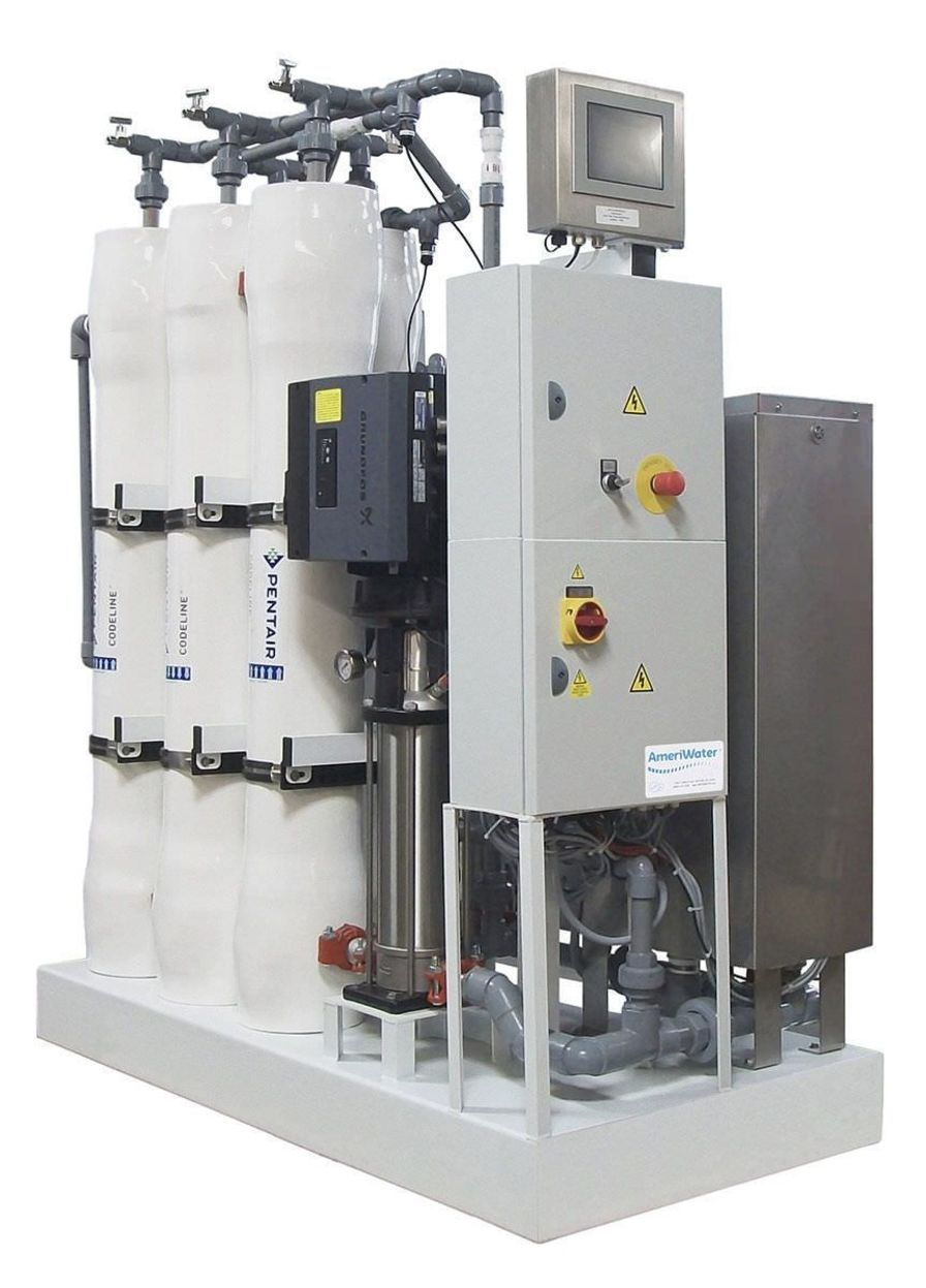 Hemodialysis water treatment system / reverse osmosis Heat Disinfect - Multiple AmeriWater