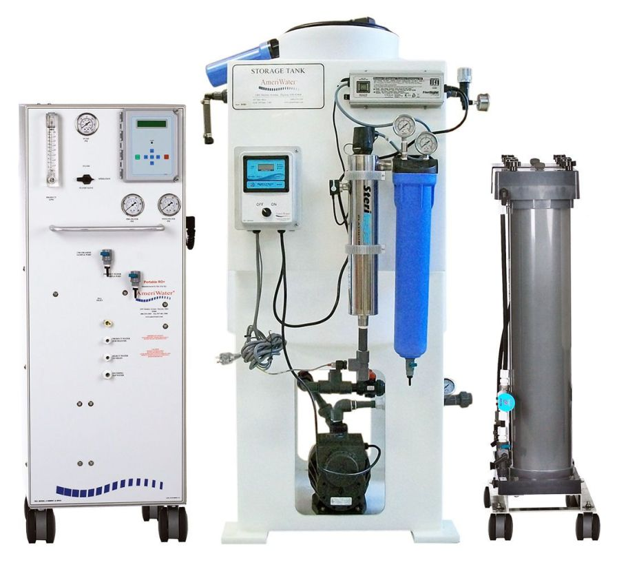 Laboratory water purification system / for ultrapure water production 18 M? AmeriWater