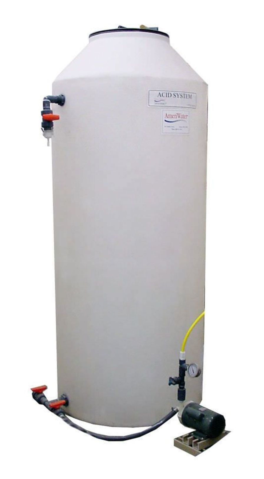Concentrate distribution system for hemodialysis AmeriWater