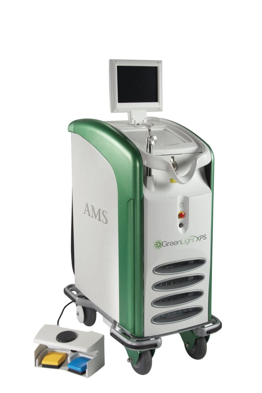 Surgical laser / urological surgery / lithium triborate / on trolley GREENLIGHT XPS™ American Medical Systems