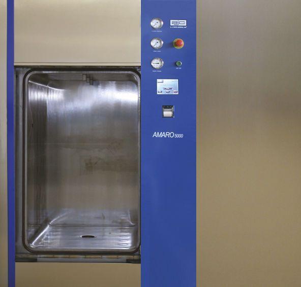 Medical autoclave / horizontal / with sliding door Amaro 5000 AJC 70x112 ajcosta