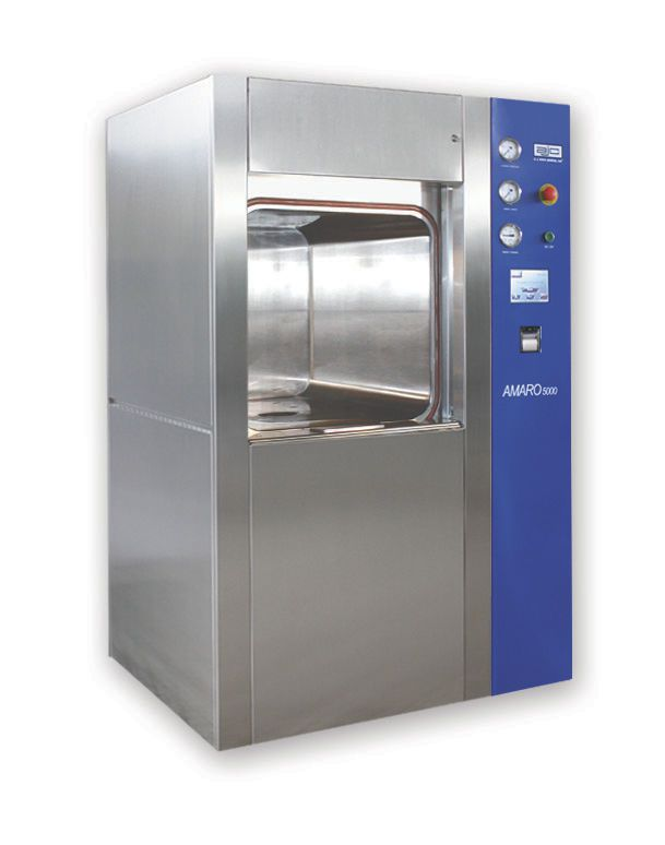 Medical autoclave / vertical / with sliding door Amaro 5000 AJC 70x70 ajcosta