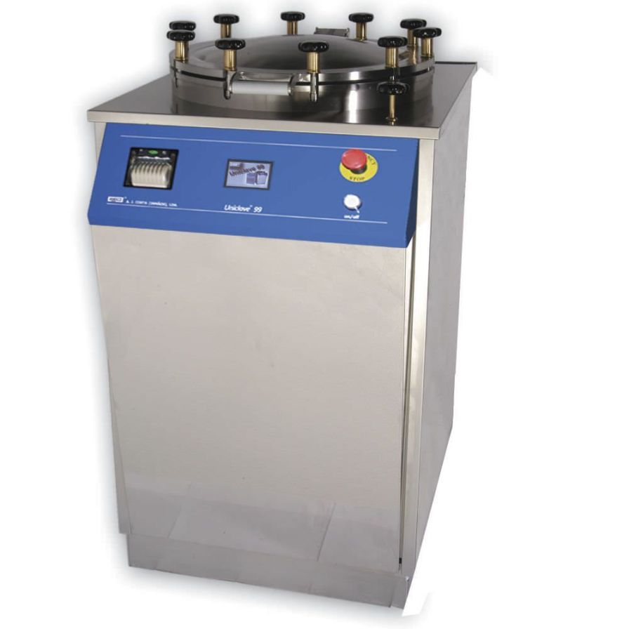 Laboratory autoclave Uniclave 99 ajcosta