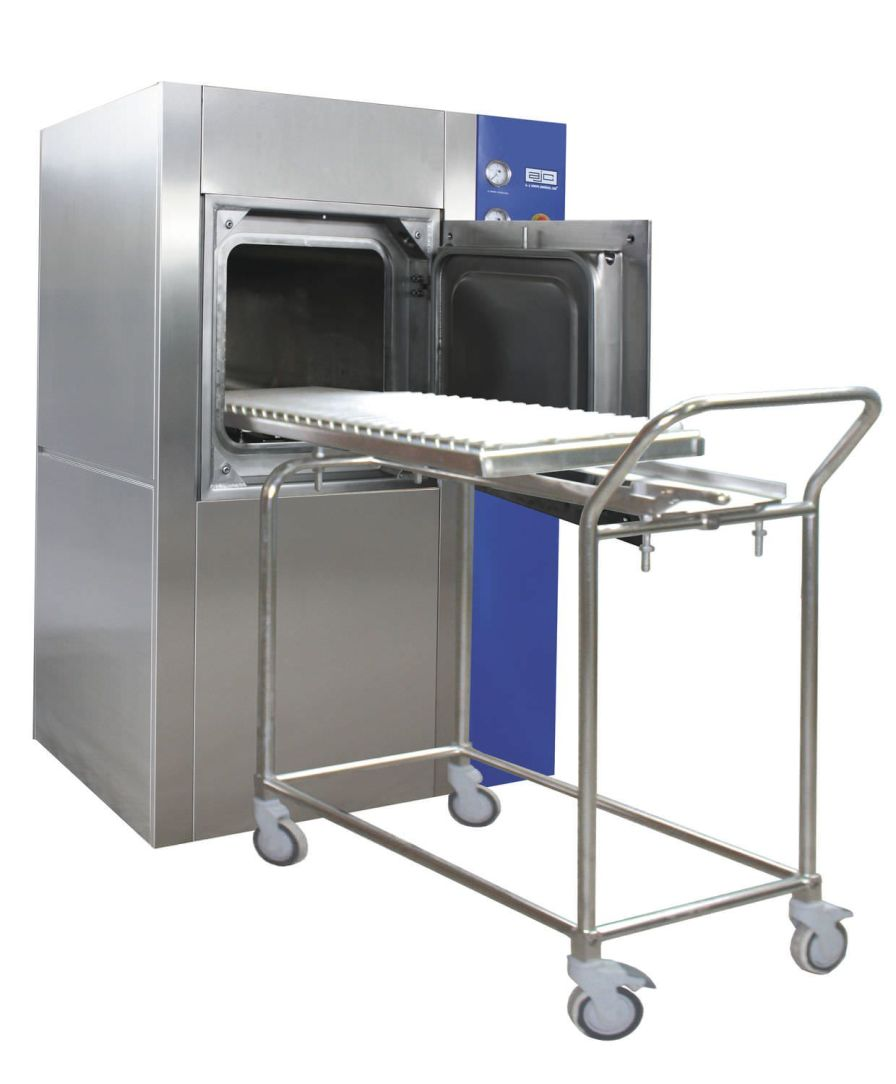 Medical autoclave Amaro 5000, Biosafety P3 ajcosta