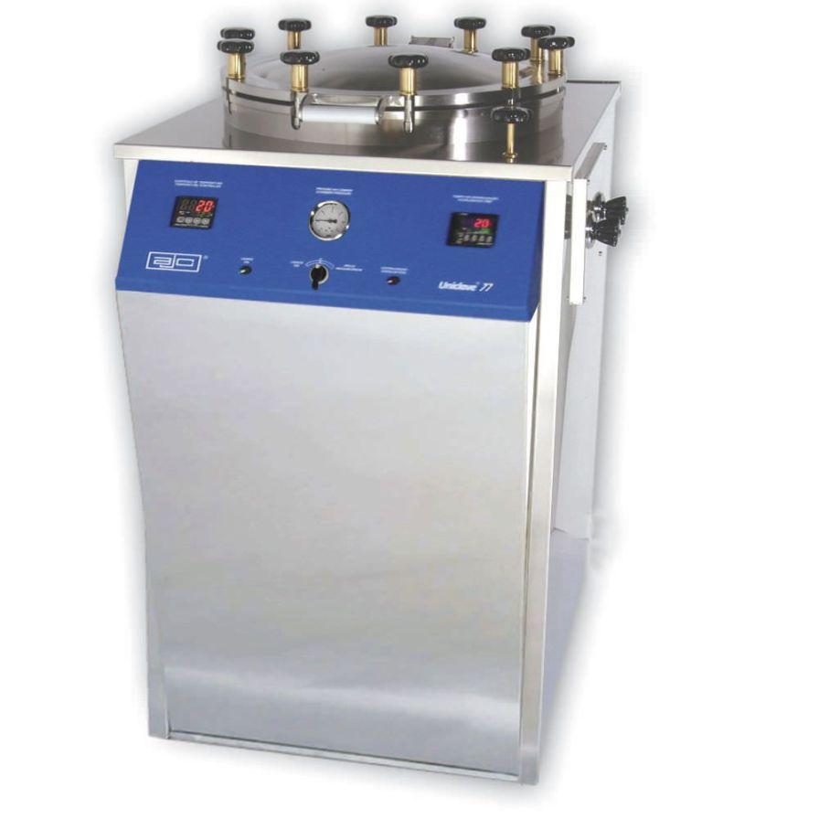 Laboratory autoclave Uniclave 77 ajcosta
