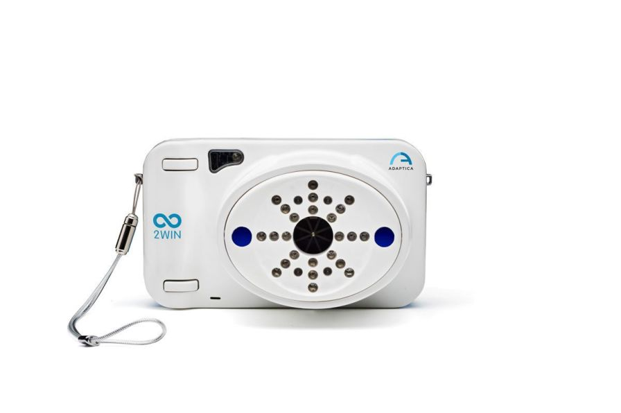 Pupil meter (ophthalmic examination) / automatic refractometer / hand-held 2WIN ADAPTICA
