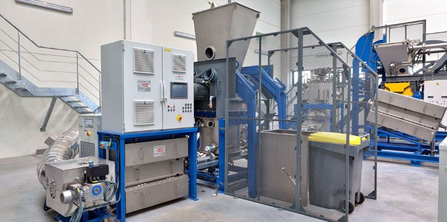 Medical waste treatment system / microwave / shredder / with sterilizer Ecosteryl 75+ AMB