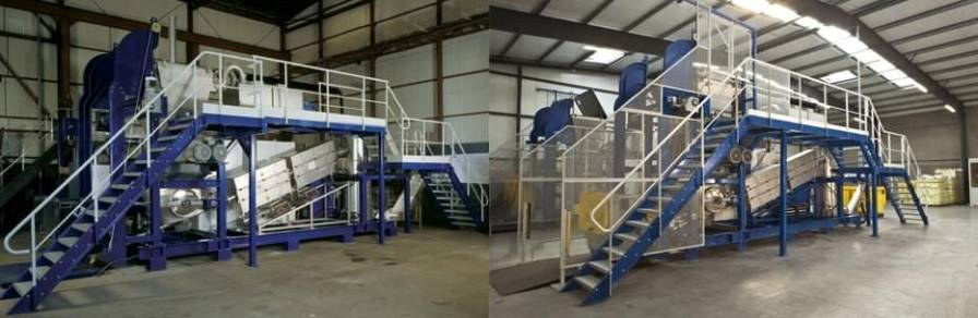 Waste treatment system with shredder / medical / with sterilizer / microwave Ecosteryl-250 AMB