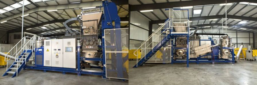 Medical waste treatment system / with shredder / with sterilizer / microwave Ecosteryl-125 AMB