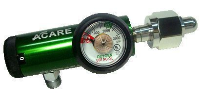 Oxygen pressure regulator / adjustable-flow VST-1XX series Acare