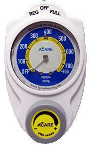 Vacuum regulator / plug-in type / continuous / surgical VRA Series Acare