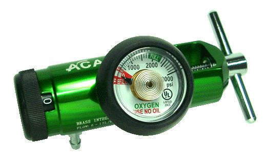 Oxygen pressure regulator / adjustable-flow VST-AM2 Acare