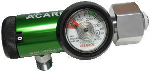 Oxygen pressure regulator / adjustable-flow VST-408 Acare