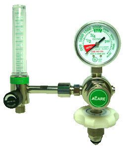 Oxygen pressure regulator / adjustable-flow VSY-225 Acare