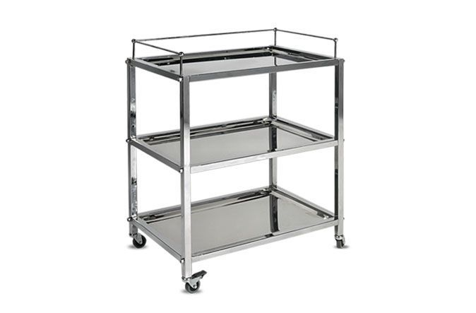 Instrument trolley / 3-tray HMF-721 A.A.MEDICAL