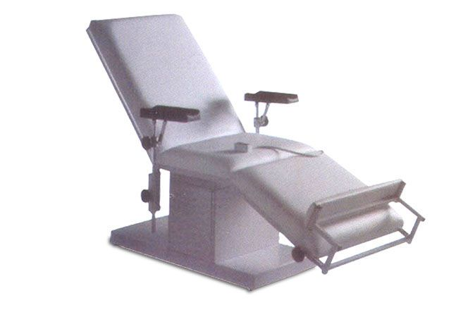 Medical examination chair / electrical / height-adjustable / 3-section HMF-1650 A.A.MEDICAL