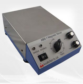 Magnetic stirrer / analog 100 - 1280 rpm | ABS-1 AccuBioTech