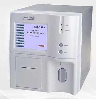Semi-automatic biochemistry analyzer ABA-3 PLUS AccuBioTech
