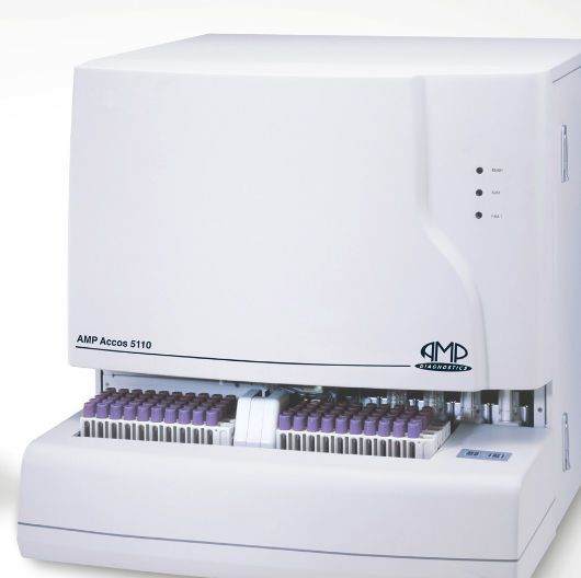 Automatic hematology analyzer / leukocyte distribution AMP Accos 5110 AMEDA Labordiagnostik