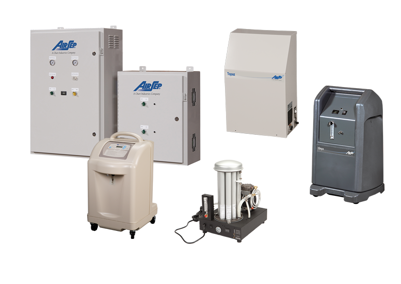 AirSep and SeQual Brand Self-Contained Generators
