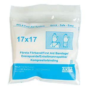 Bandage non-adherent 17 x 17 cm AKLA