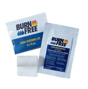 Sterile compress with burn gel AKLA