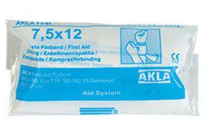 Bandage non-adherent 7.5 x 12 cm AKLA