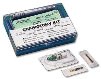 Neurosurgery (craniotomy) instrument kit ACRA-CUT