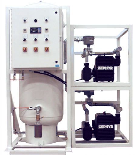 Medical vacuum system / rotary claw / oil-free VLR251x4V240-MED Air Power Products