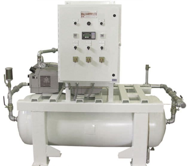 Medical vacuum system / rotary vane / oil-free UVD25x2R60-MED Air Power Products