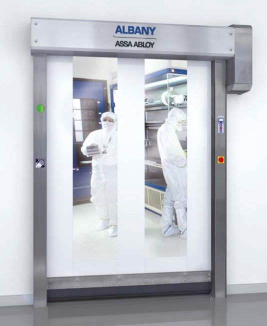 Hospital door / laboratory / roll-up RR300 Clean Albany