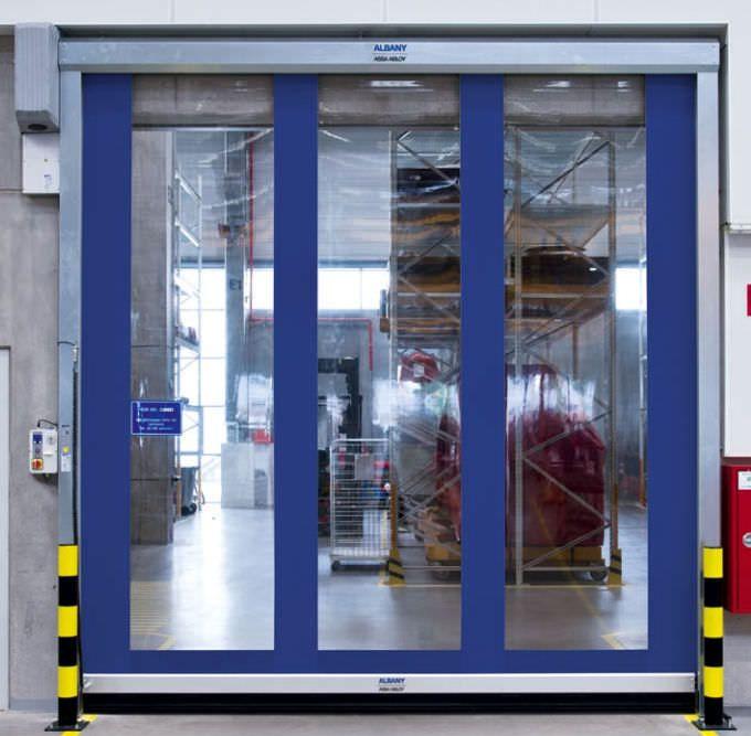 Hospital door / laboratory / roll-up RR300 Albany