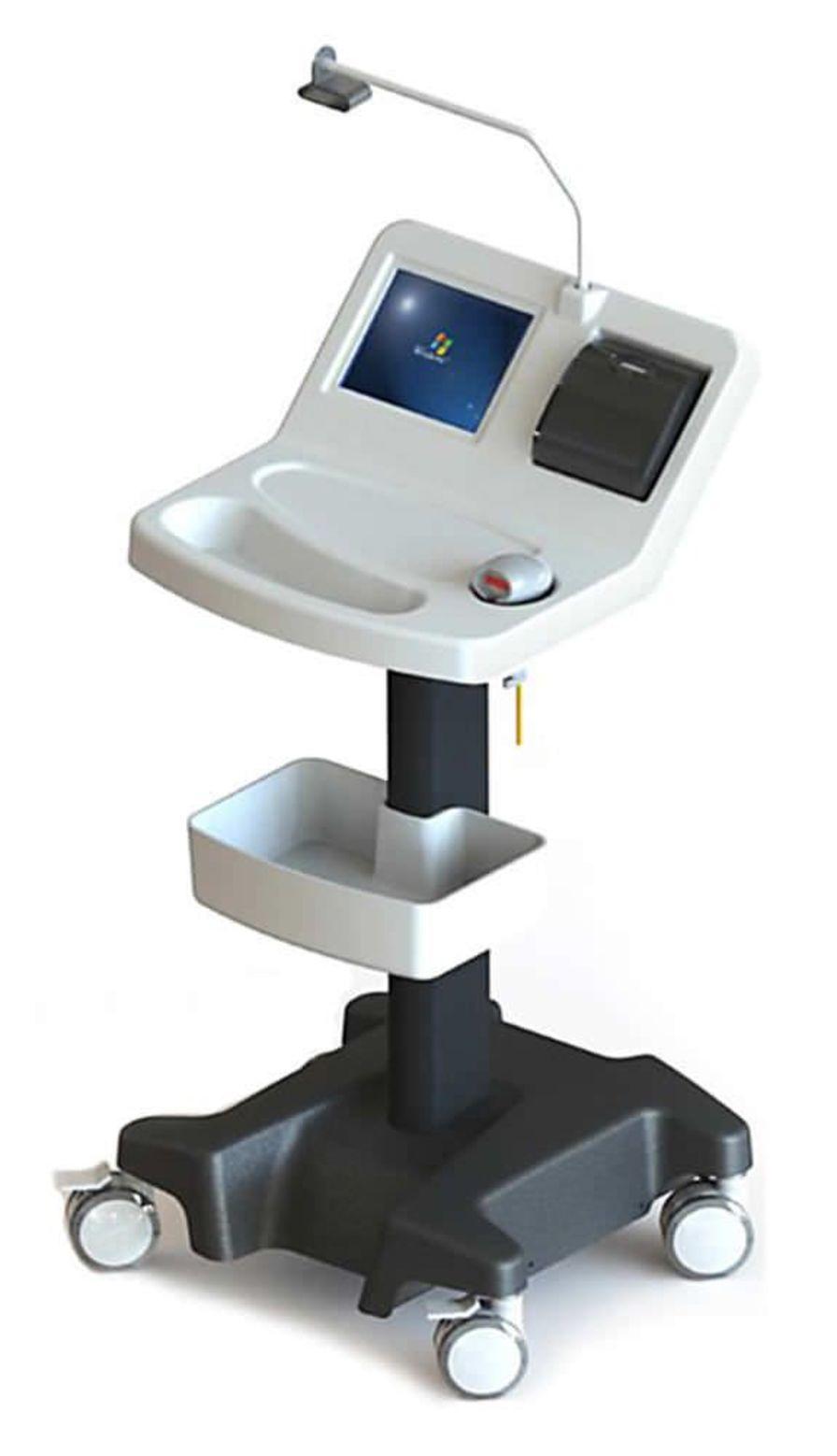 Medical computer cart TBC 210 ADI MEDICAL EQUIPMENT