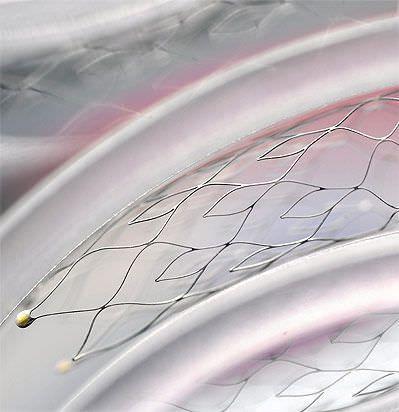 Stent / embolization coil support NEURO Acandis