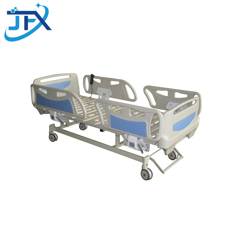 Electric hospital bed with three functions