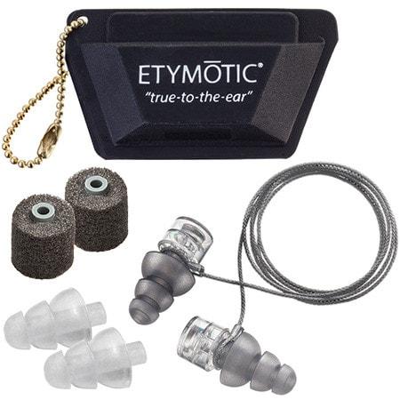 Etymotic ER20XS eartips and earplugs