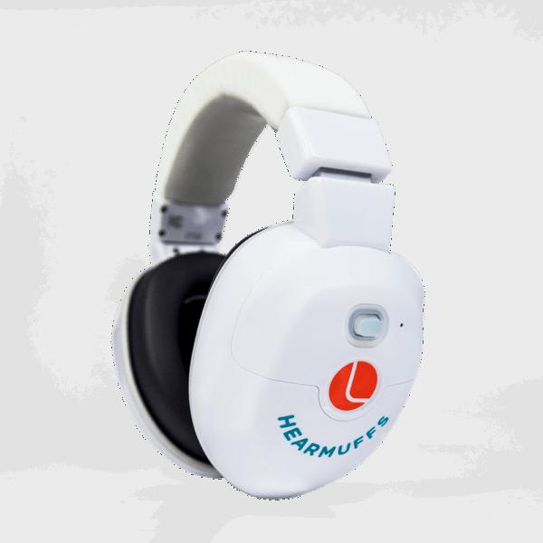 Hearmuffs Soothe - White earmuffs for kids