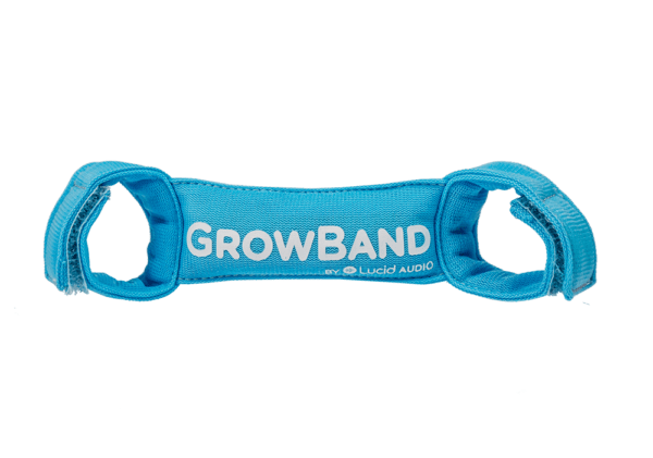 Blue Growband for use with kids Hearing Muffs