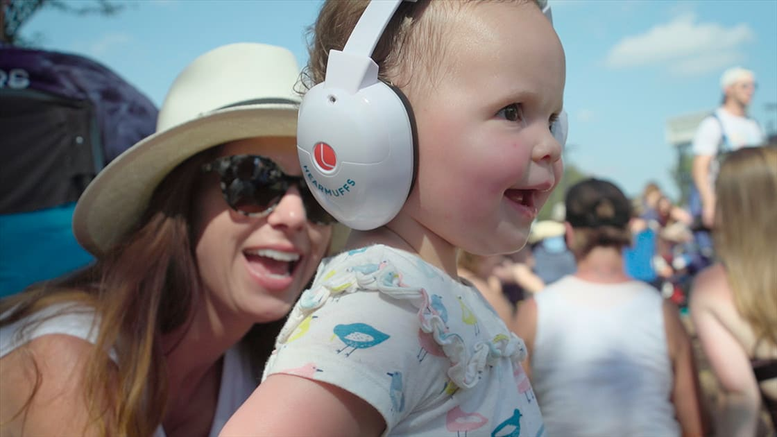 Hearing protection for infants and kids