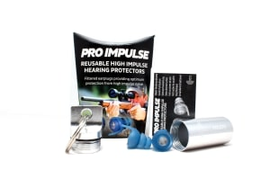 Pro impulse universal key chain for earplugs