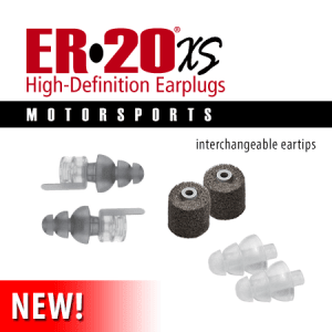 ER20xs - motorsport hearing protection