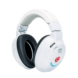 Kids hearing protectors - Trio- white kids hearmuffs