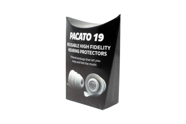 Pacato19 Filtered Earplugs - Hearing Protectors