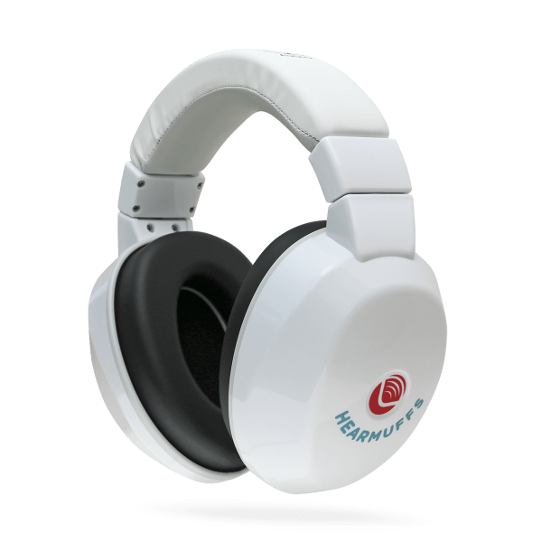 Hearing protection for kids - White Hearmuffs