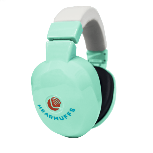 Green Hearmuffs - Hearing protection for Children