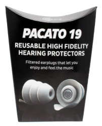 Pacato 19 - Natural Sounding, Generic fit Earplug