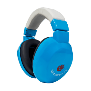 Trendy Blue Hearmuffs protection for kids