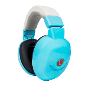 Blue Hearmuffs - Hearing protection for kids